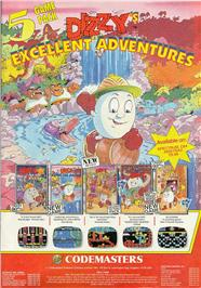 Dizzy's Excellent Adventures per Commodore 64