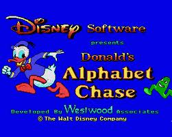 Donald's Alphabet Chase per Commodore 64