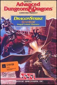 DragonStrike per Commodore 64