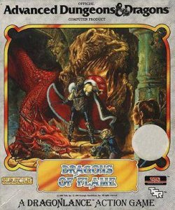 Dragons of Flame per Commodore 64