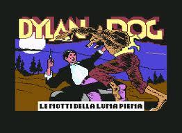 Dylan Dog: Le Notti della Luna Piena per Commodore 64