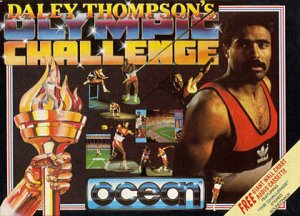 Daley Thompson's Olympic Challenge per Commodore 64