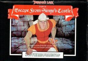 Dragon's Lair II: Escape from Singe's Castle per Commodore 64