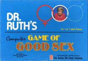 Dr. Ruth's Computer Game of Good Sex per Commodore 64
