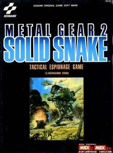 Metal Gear 2: Solid Snake per MSX