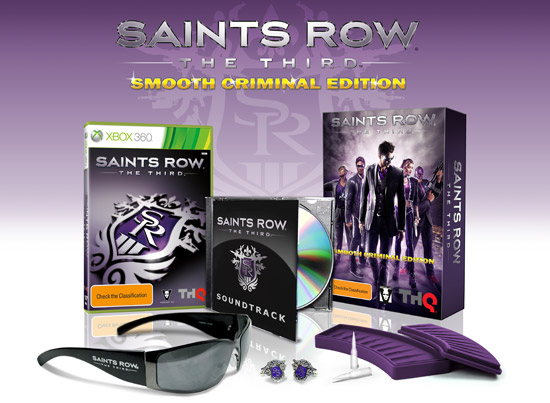 "Un'edizione ""Smooth Criminal"" per Saints Row The Third"