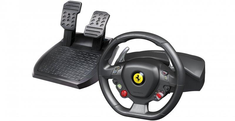 Thrustmaster presenta il volante Ferrari 458 Italia