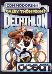 Daley Thompson's Decathlon per Commodore 64