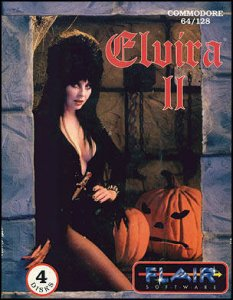 Elvira II: The Jaws Of Cerberus per Commodore 64