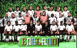 England Championship Special per Commodore 64