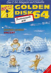 Eskimo Games per Commodore 64