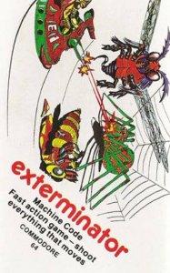 Exterminator per Commodore 64