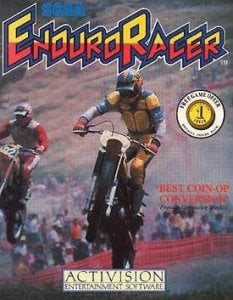 Enduro Racer per Commodore 64