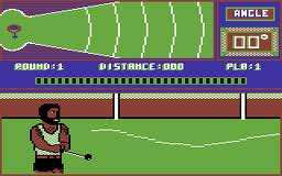 European Games per Commodore 64