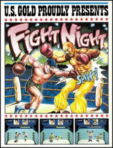 Fight Night per Commodore 64