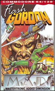 Flash Gordon per Commodore 64