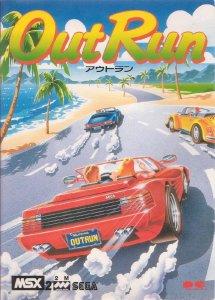 Outrun per MSX