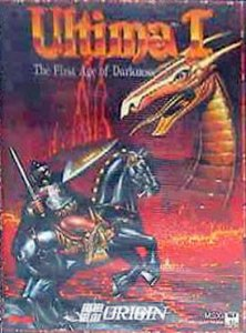 Ultima I: The First Age of Darkness per MSX