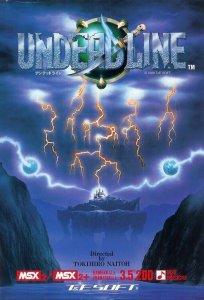 Undead Line per MSX