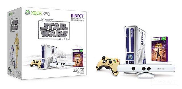 Kinect Star Wars - Il gioco e il bundle 360 R2-D2 arriveranno in ritardo
