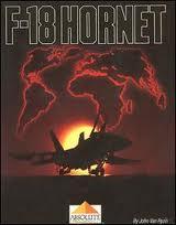 F-18 Hornet per Commodore 64