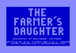 Farmer's Daughter per Commodore 64