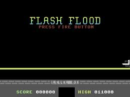 Flash Flood per Commodore 64