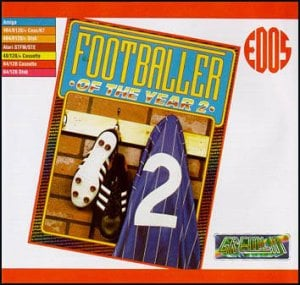 Footballer of the Year 2 per Commodore 64