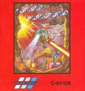 Fortress Underground per Commodore 64
