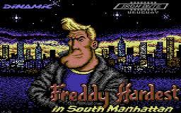 Freddy Hardest in South Manhattan per Commodore 64