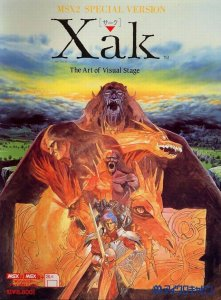 Xak: The Art of Visual Stage per MSX