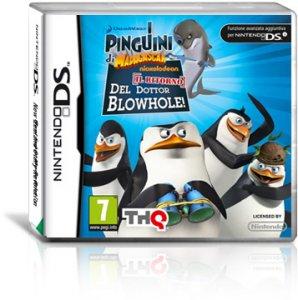 I Pinguini di Madagascar: Il Ritorno del Dottor Blowhole! per Nintendo DS