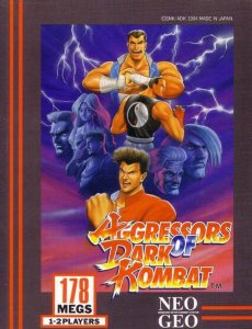 Aggressors of Dark Kombat per Neo Geo