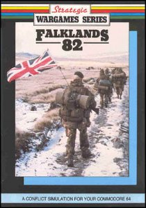 "Falklands 82 - ""The Empire Strikes Back"" per Commodore 64"