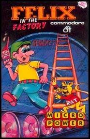 Felix in the Factory per Commodore 64