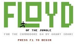 Floyd of the Jungle per Commodore 64