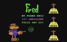 Fred per Commodore 64