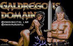 Galdregon's Domain per Commodore 64