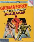 Gamma Force in Pit of a Thousand Screams per Commodore 64