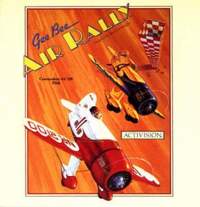GeeBee Air Rally per Commodore 64