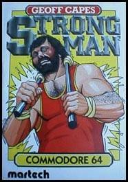 Geoff Capes Strongman Challenge per Commodore 64