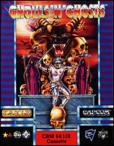 Ghouls'n'Ghosts per Commodore 64