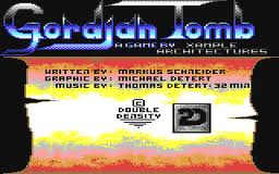 Gordian Tomb per Commodore 64