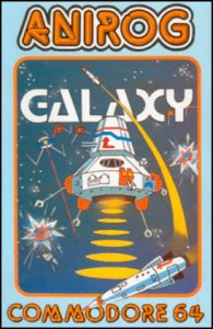 Galaxy per Commodore 64