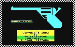 Gangbusters per Commodore 64