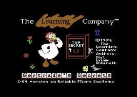 Gertrude's Secrets per Commodore 64