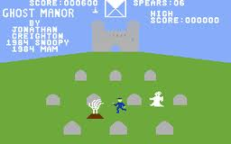 Ghost Manor per Commodore 64