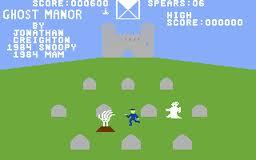 Ghost Manor per Commodore 64