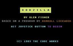 Godzilla per Commodore 64