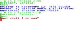 Golden Voyage per Commodore 64